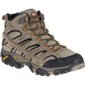 Merrell Moab 2 Leather Mid GTX Schuhe Herren pecan